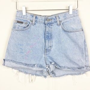 Calvin Klein | Vintage Cutoffs Mom Jean Shorts